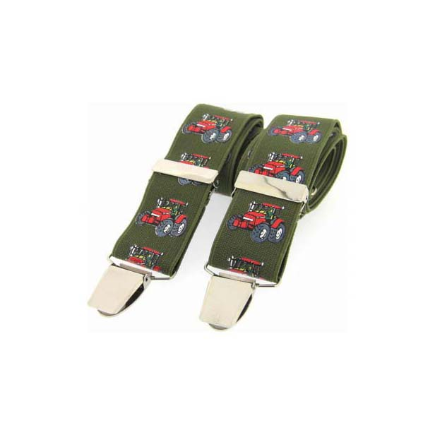 Red Tractor Themed Braces