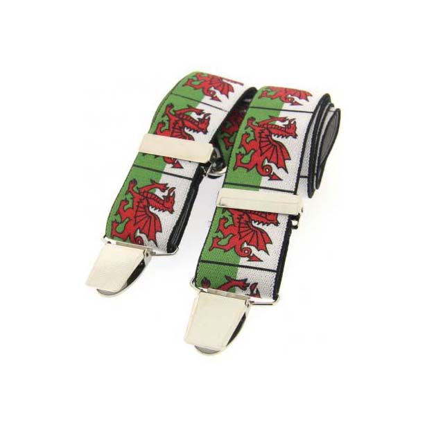 Welsh Dragon Themed Braces