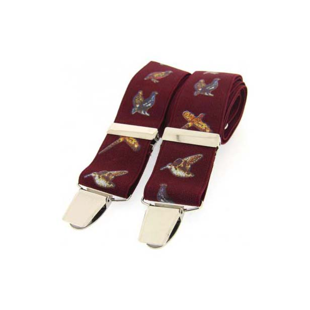 Country Birds Themed Wine Braces