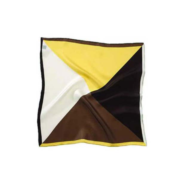 Chocolate Mix Silk Pocket Square