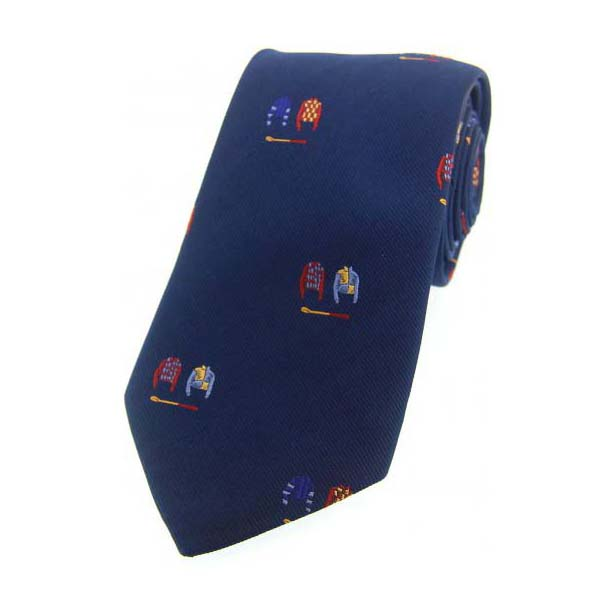 Jockey Colours on Blue Country Silk Tie