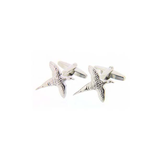 Solid Flying Pheasant Country Cufflinks