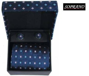 Blue Pink Sky Squares Box Set