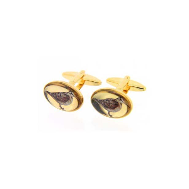 Woodcock Symbol Country Cufflinks