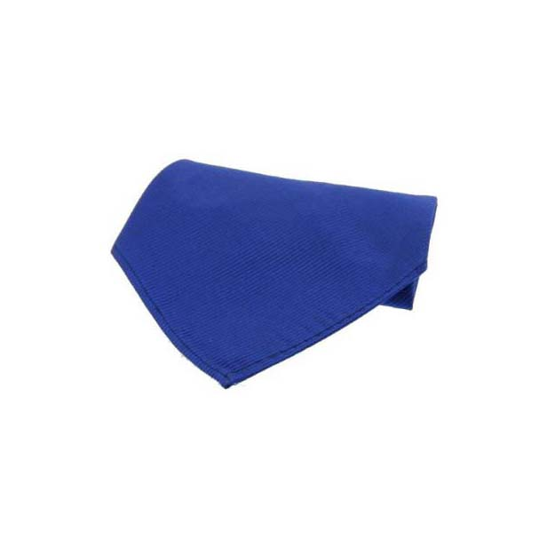 Plain Royal Diagonal Twill Silk Pocket Square