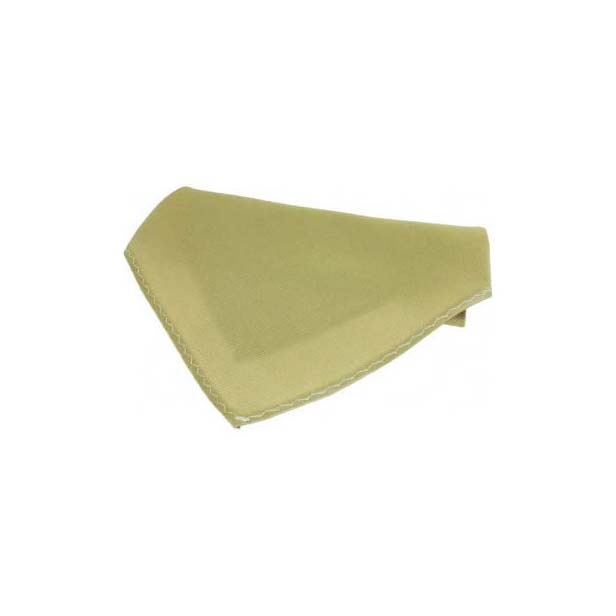 Plain Camel Fine Twill Silk Pocket Square