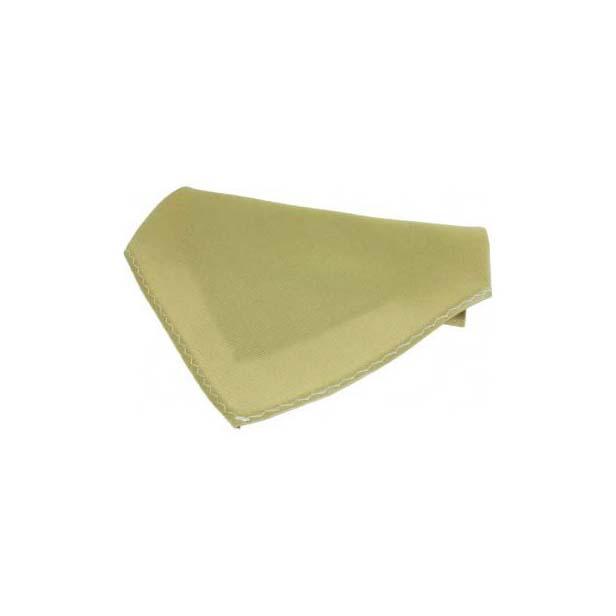 Plain Camel Fine Twill Silk Pocket Square