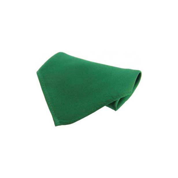 Emerald Green Plain Satin Silk Men's Pocket Square