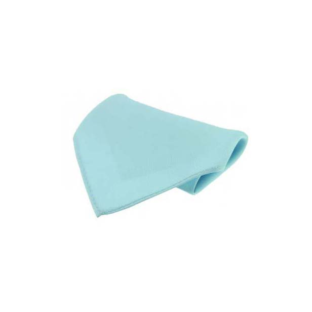 Sky Blue Satin Silk Men's Pocket Square