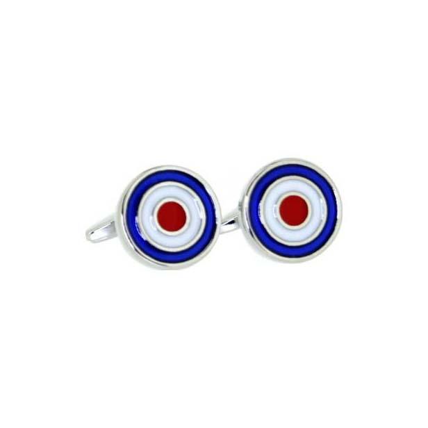 RAF Target Enamelled Cufflinks