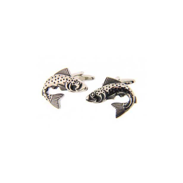 Trout Fish Country Cufflinks