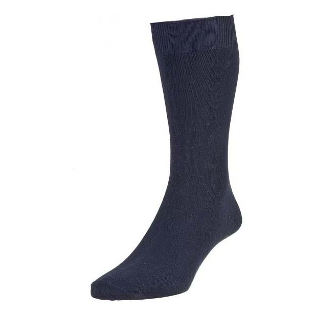 Navy Cotton Rich Triple Pack Socks