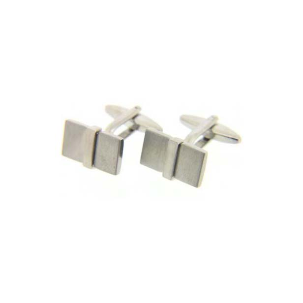 Rectangular Cufflinks with Swivel Fitting