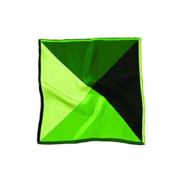 Green Mix Silk Pocket Square