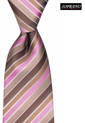 Beige Pink Boardroom Tie