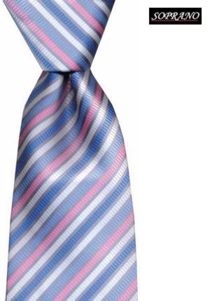 Sky Pink Capri Striped Tie