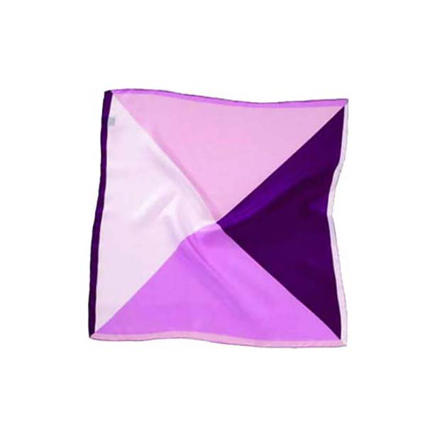 Pink Mix Silk Pocket Square
