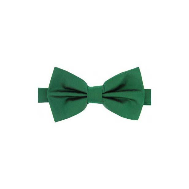 Emerald Satin Silk Luxury Bow Tie