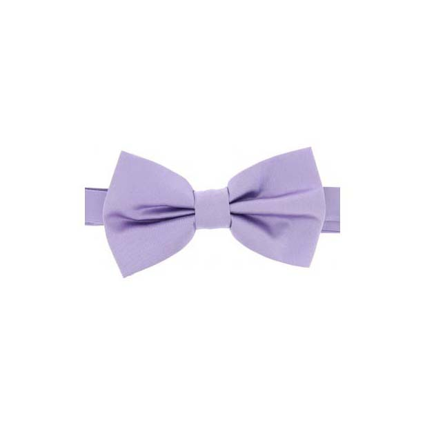 Light Lilac Satin Silk Luxury Bow Tie