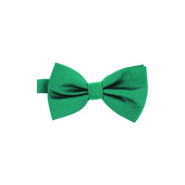 Turquoise Satin Silk Luxury Bow Tie