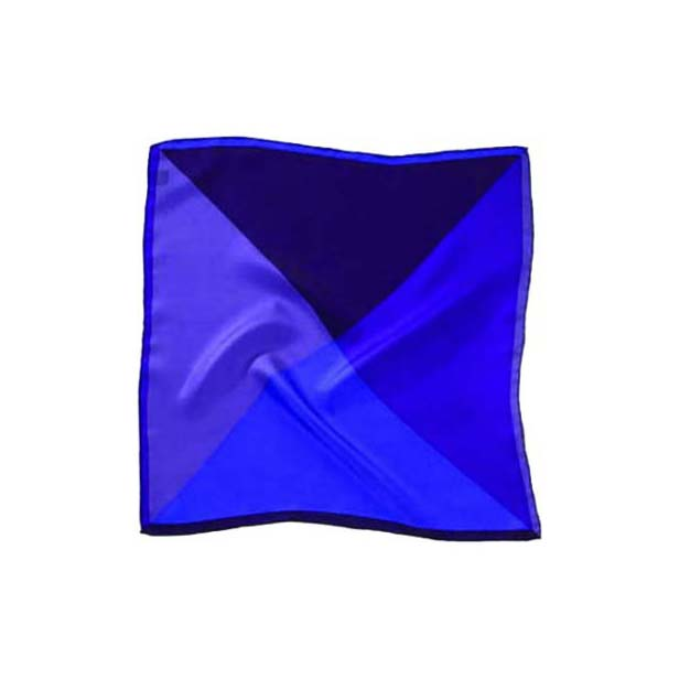 Purple Mix Silk Pocket Square
