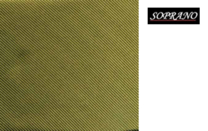 Woven Country Green Tie In Diagonal Ribbed Luxury Silk
