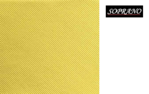 Woven Light Gold Tie In Diagonal Ribbed Luxury Silk