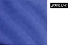 Woven Royal Blue Tie In Diagonal Ribbed Luxury Silk