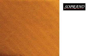 Woven Rust In Diagonal Ribbed Luxury Silk