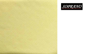 Woven Yellow Tie In Diagonal Ribbed Luxury Silk