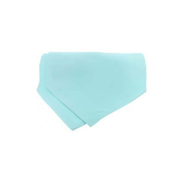 Cyan Satin Luxury Silk Cravat