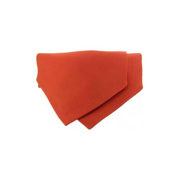Orange Satin Luxury Silk Cravat