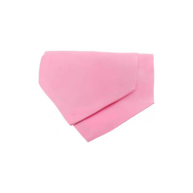 Pink Satin Luxury Silk Cravat
