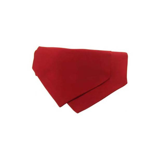Red Satin Luxury Silk Cravat