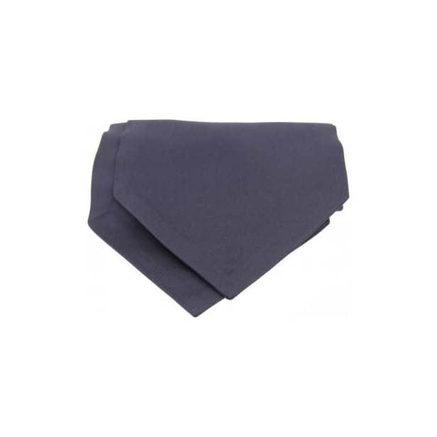 Slate Grey Satin Luxury Silk Cravat