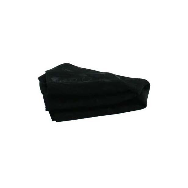 Black Rose Patterned Silk Pocket Square