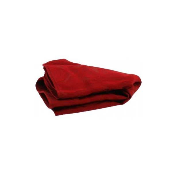 Red Rose Patterned Silk Pocket Square