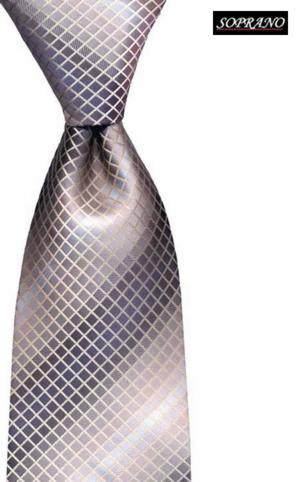 Grecian Mosaic Lilac Tie