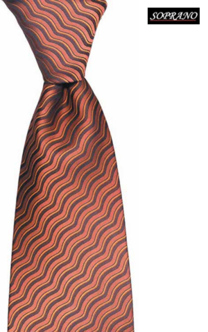 Di Maggio Burnt Orange Tie