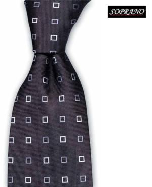 Black Square Business Tie