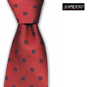 Directors Red Silk Tie