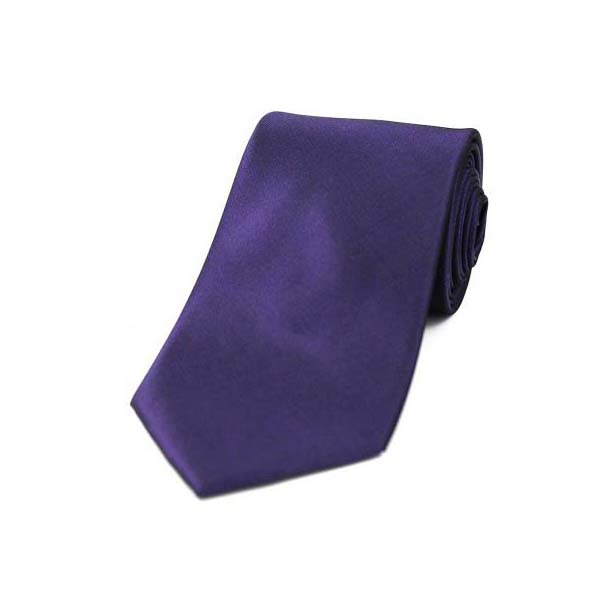 Purple Tonic Silk Tie