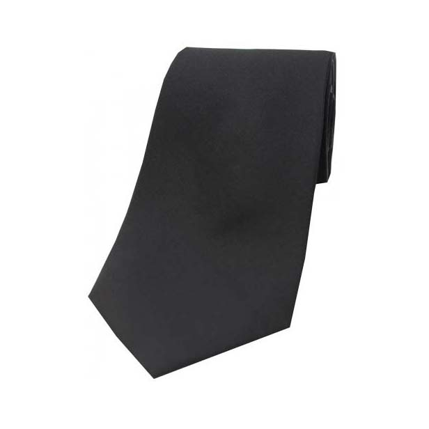 Black Tonic Silk Tie
