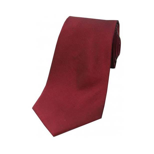 Claret Tonic Silk Tie