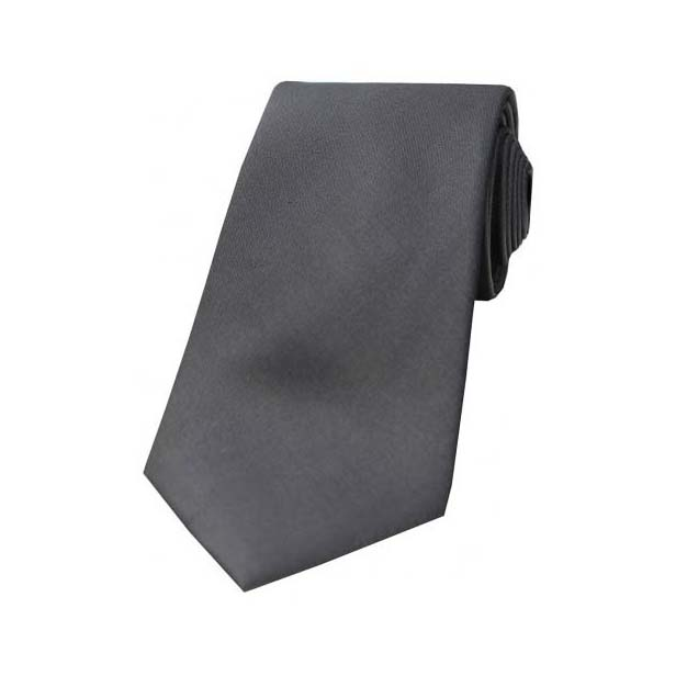 Grey Tonic Silk Tie