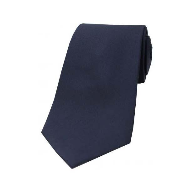 Navy Tonic Silk Tie