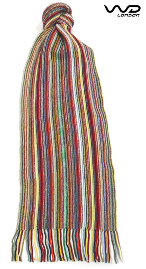 Cotton Multi Stripe  Scarf