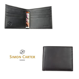 Plain Black Leather Jeans Wallet