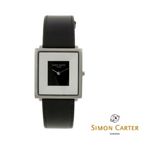 Black & White Interior Simon Carter Watch