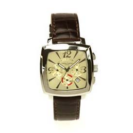 Champagne Curved Simon Carter Watch
